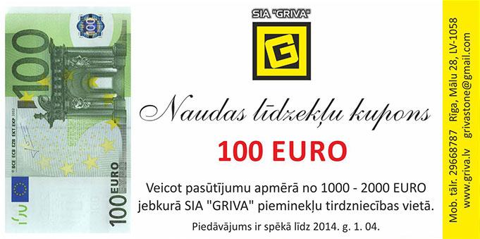 100 EUR Atlaides kupons